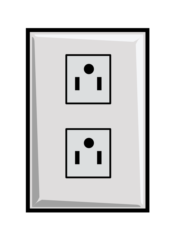 Plugged clipart outlet Plug Clipart And plug Collection