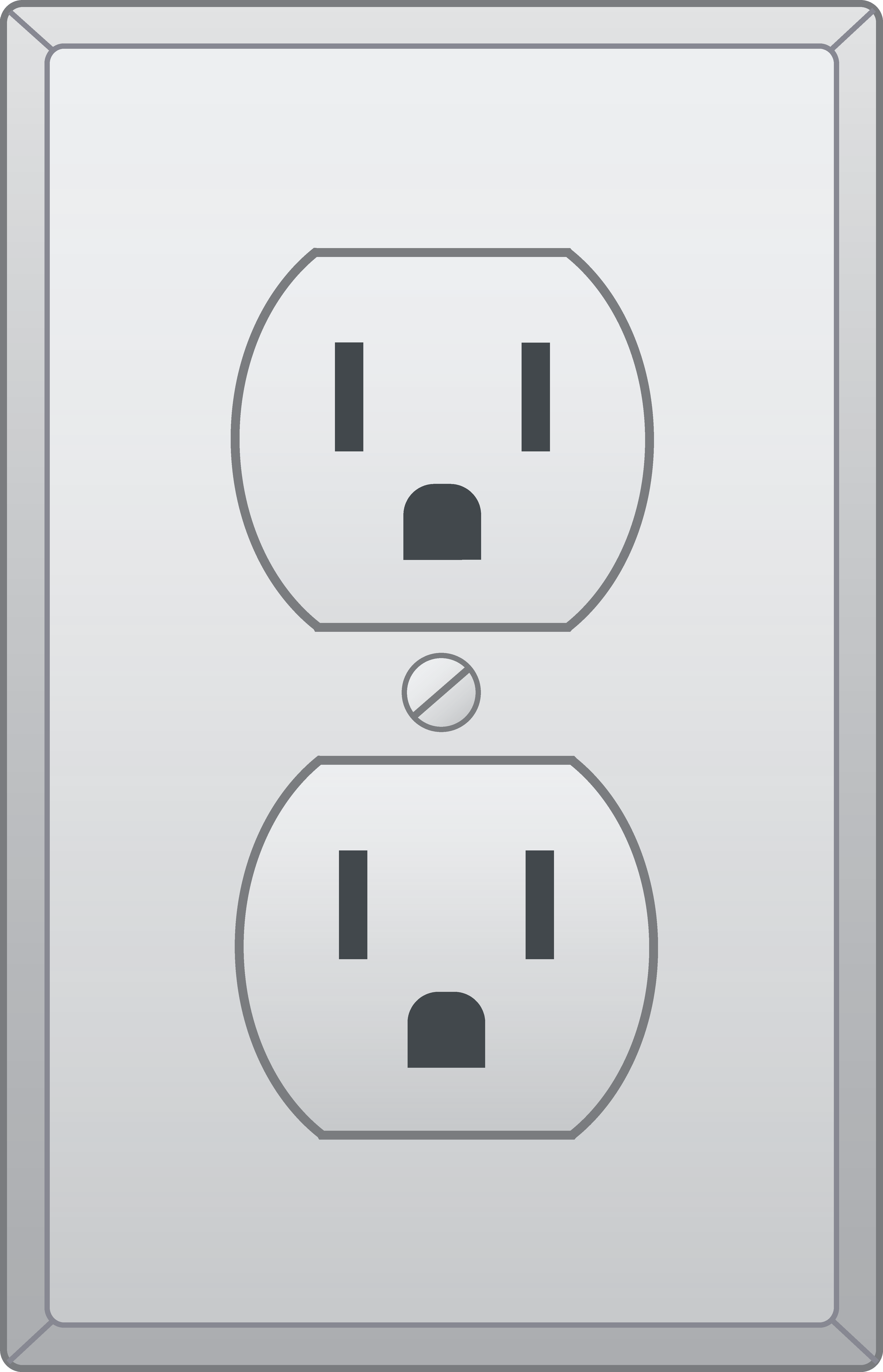 Plugged clipart outlet Electrical Outlet Outlet Clip Free