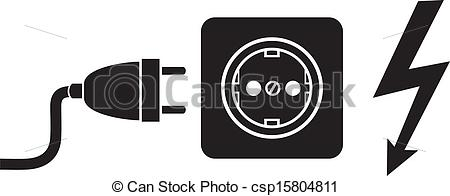 Plugged clipart outlet Power Art Outlet – Outlet