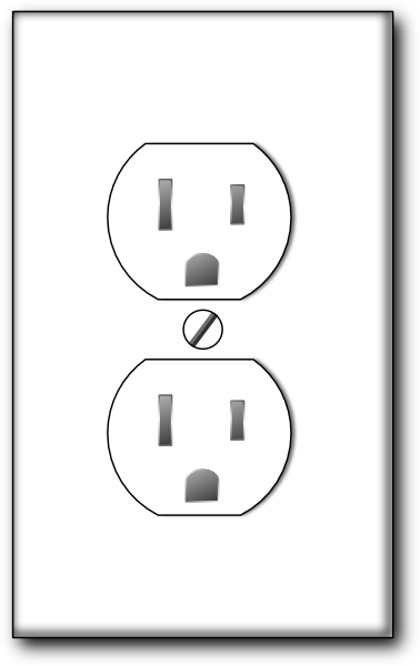 Plugged clipart outlet Download as: this  royalty