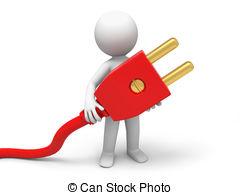 Wire clipart electrical plug Clip Cord Cord Download –