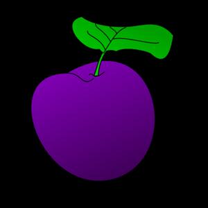 Grape clipart one Plum art online Clker Clip