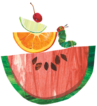 Plum clipart hungry caterpillar The Salad: Hungry Hungry make