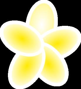 Yellow clipart plumeria Clip Plumeria royalty clip Clip