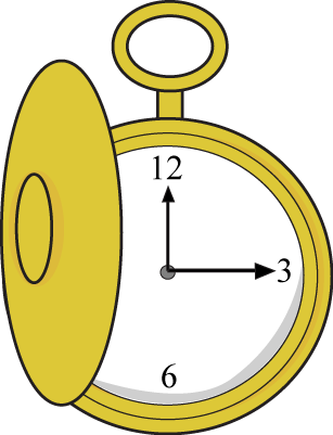Pocket Watch clipart cartoon Watch is vector image This