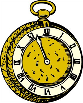 Pocket Watch clipart chain sketch And pocket pocket Clipart