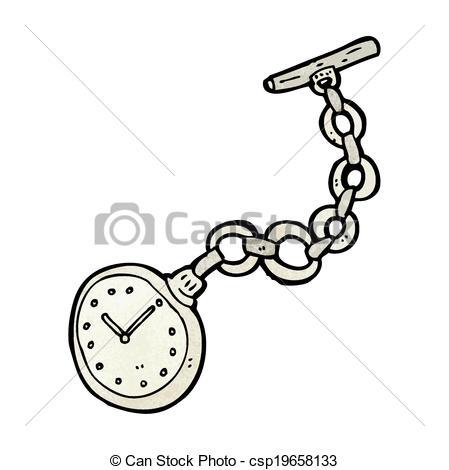 Pocket Watch clipart cartoon Art of pocket watch view