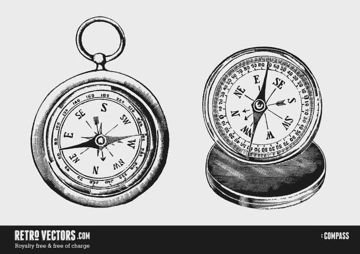 Pocket Watch clipart compass On about 22 Compass best