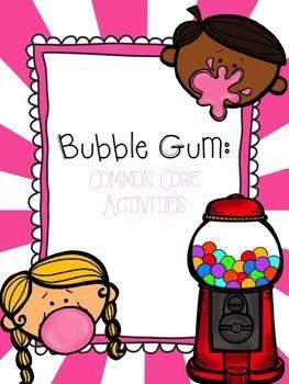 Chewing Gum clipart packet Bubble Day Gum! Core Bubble