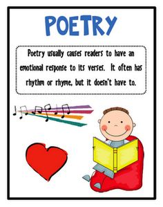 Poem clipart center #13