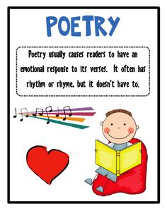Poem clipart classwork Unit Unit National Poetry Fulfilled!