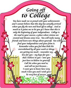 Poem clipart college major College Said off It Done