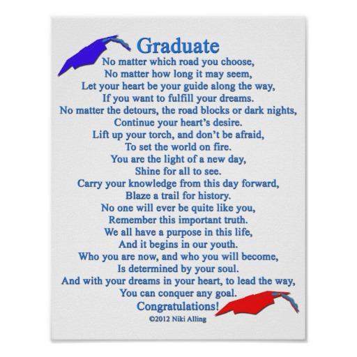 Poem clipart college major Graduate Poem Poem Poster Poem