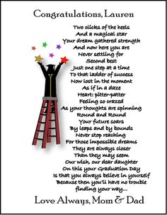 Poem clipart college major Gifts Poetry poems Graduation for