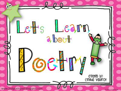Poem clipart grade 2 Pad: 2nd Grade About Let's