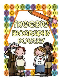Poem clipart grade 2 Use Common Biography Poetry Common