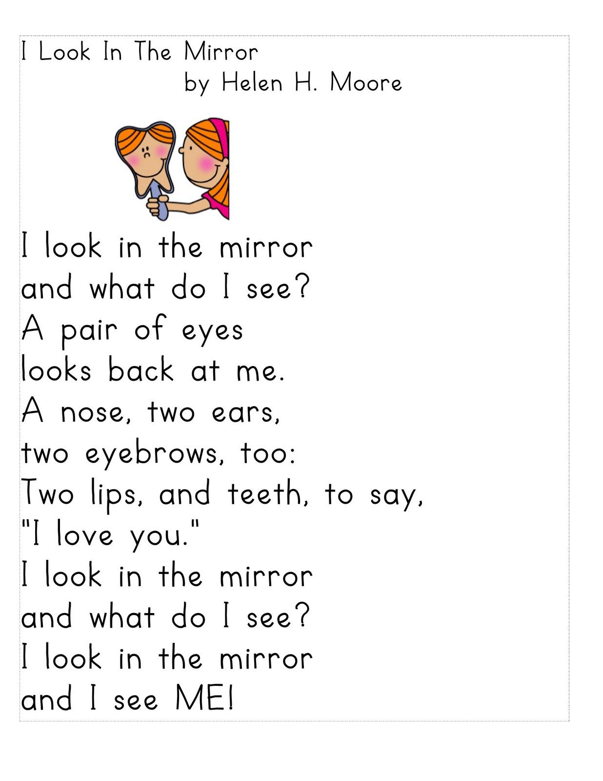 Poem clipart grade 2 4 Treasures CA/TX Poems Grade