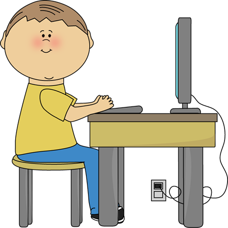 Desk clipart cute student Eli Reading Weird Garlic Socks