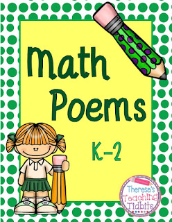 Poem clipart interested Math poetry Tip Theresa's you