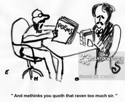 Quoth clipart funny Of Comics Poetry Poetry Writing