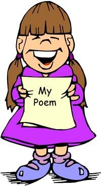 Poem clipart poem recitation March at English error An