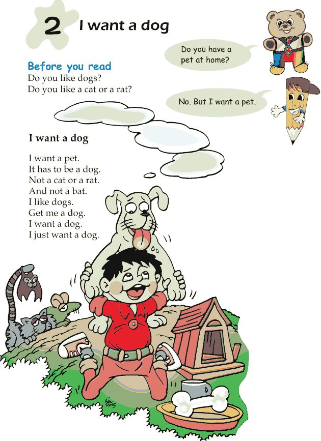 Stories clipart english subject Images Dog short 2 –