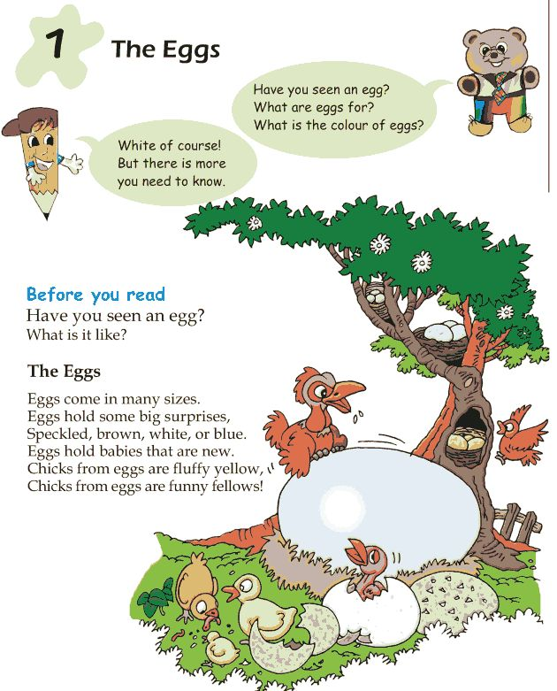 Poem clipart short story 1 Lesson Eggs – Kids