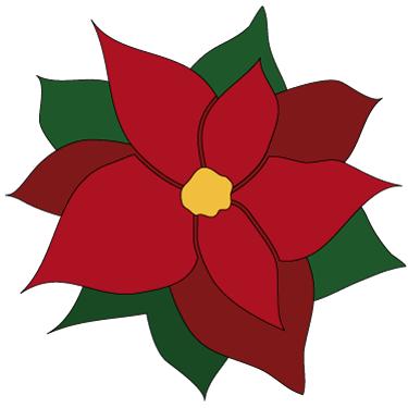 Poinsettia clipart Holidays! Poinsettia White Art Clip