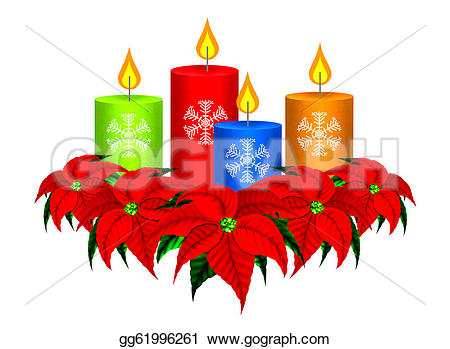 Poinsettia clipart beautiful christmas Font christmas poinsettia Art group