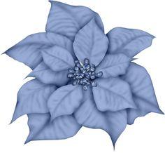 Poinsettia clipart blue ART CHRISTMAS CLIP CHRISTMAS JOY