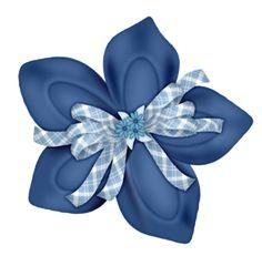 Poinsettia clipart blue Christmas Cliparts 27 FM BLUE