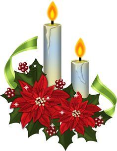 Poinsettia clipart christmas candlelight Of catalog world's Christmas Deco