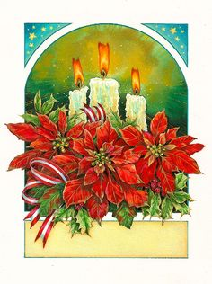 Poinsettia clipart christmas candlelight BY Pinterest Christmas images Christmas
