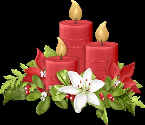 Poinsettia clipart christmas candlelight De web Álbumes NAVIDAD Carmen