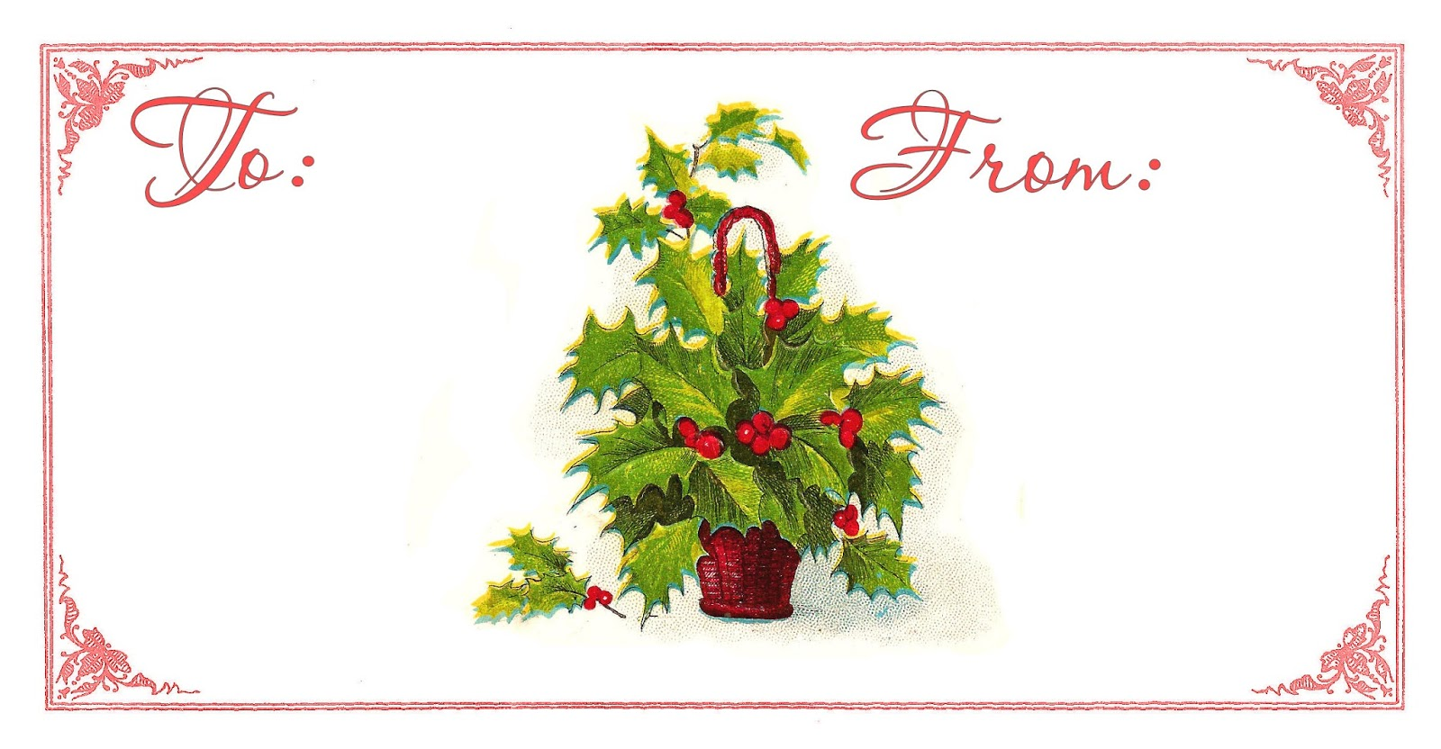 Poinsettia clipart christmas gift tag The gift Gift Graphics Monarch: