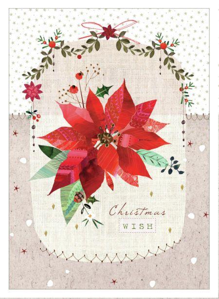 Poinsettia clipart christmas greeting Christmas Christmas 22 Art GreetingsChristmas