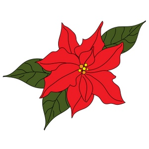 Poinsettia clipart cute Download for Art  Page