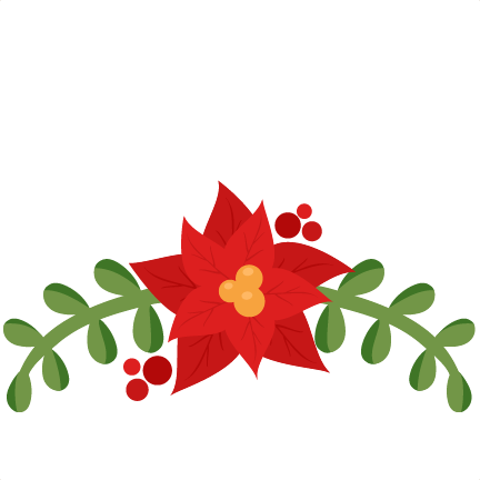 Poinsettia clipart cute Cut file pazzles cute free