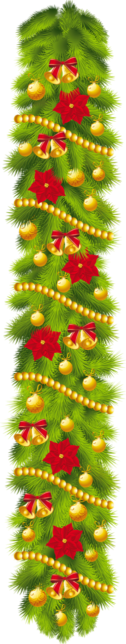Poinsettia clipart holiday garland 0 clipart ornaments clipart Transparent