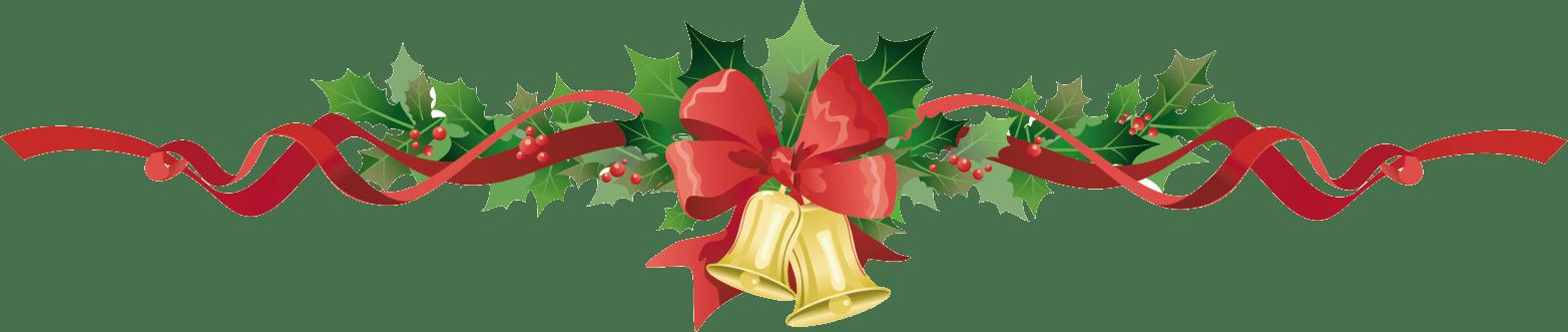 Poinsettia clipart holiday garland PNG transparent Bells StickPNG Bells