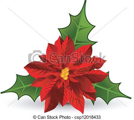 Poinsettia clipart noche buena Noche Christmas pic Drawing Poi