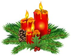 Poinsettia clipart yule Candles PNG Image image: PNG