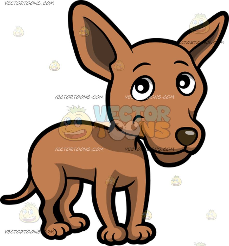 Pointed Ears clipart cute cartoon  And A Clipart Brown