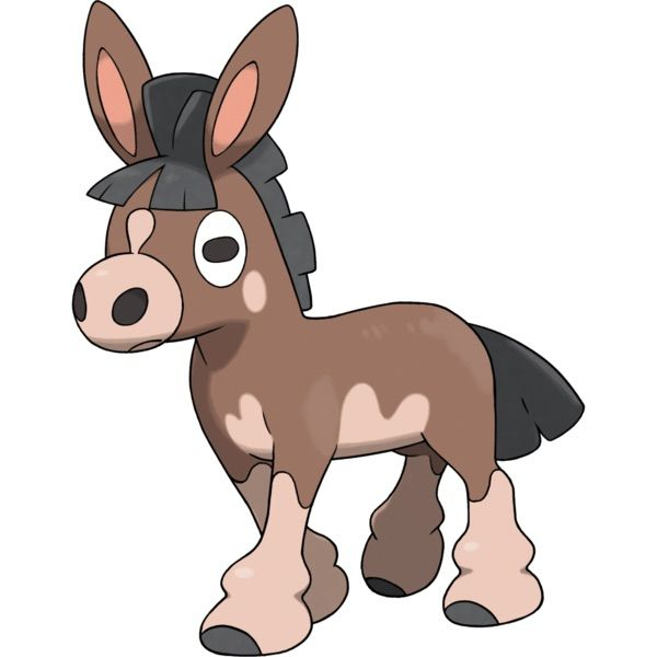 Pointed Ears clipart donkey A tan resembles tan Mudbray