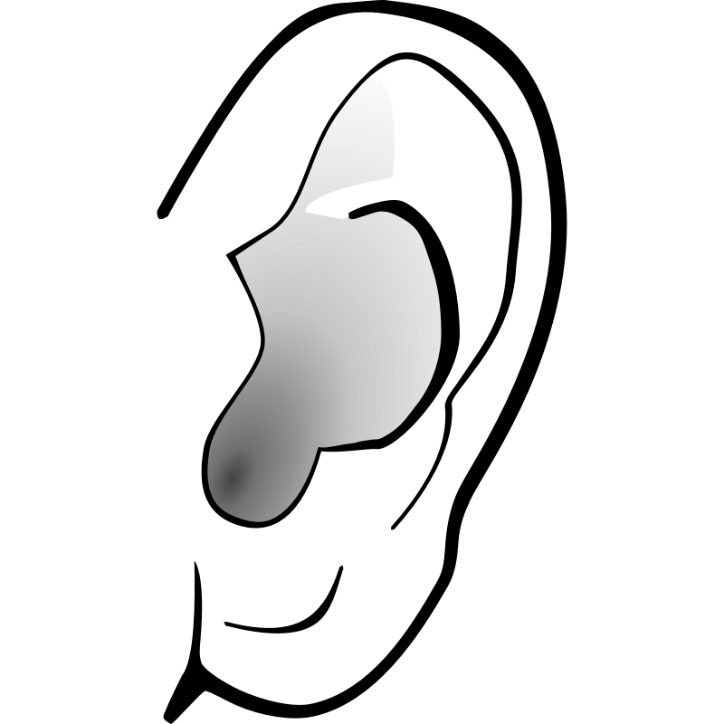 Monster clipart ear #9