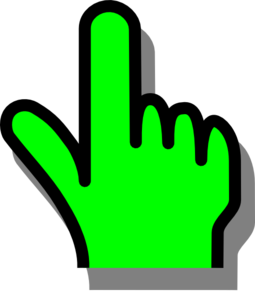 Pointer clipart  Collection hand pointer Pointing