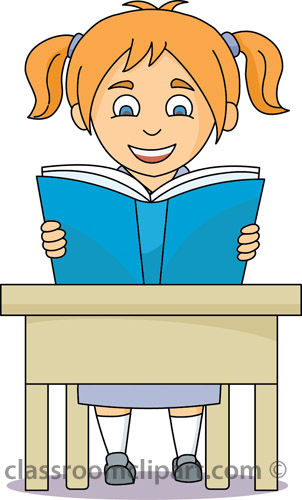 Desk clipart independent work Collections clipart Free reading with