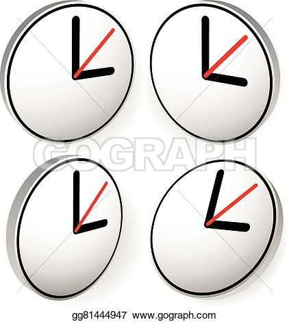 Pointer clipart expectation Hour with Art concepts Vector