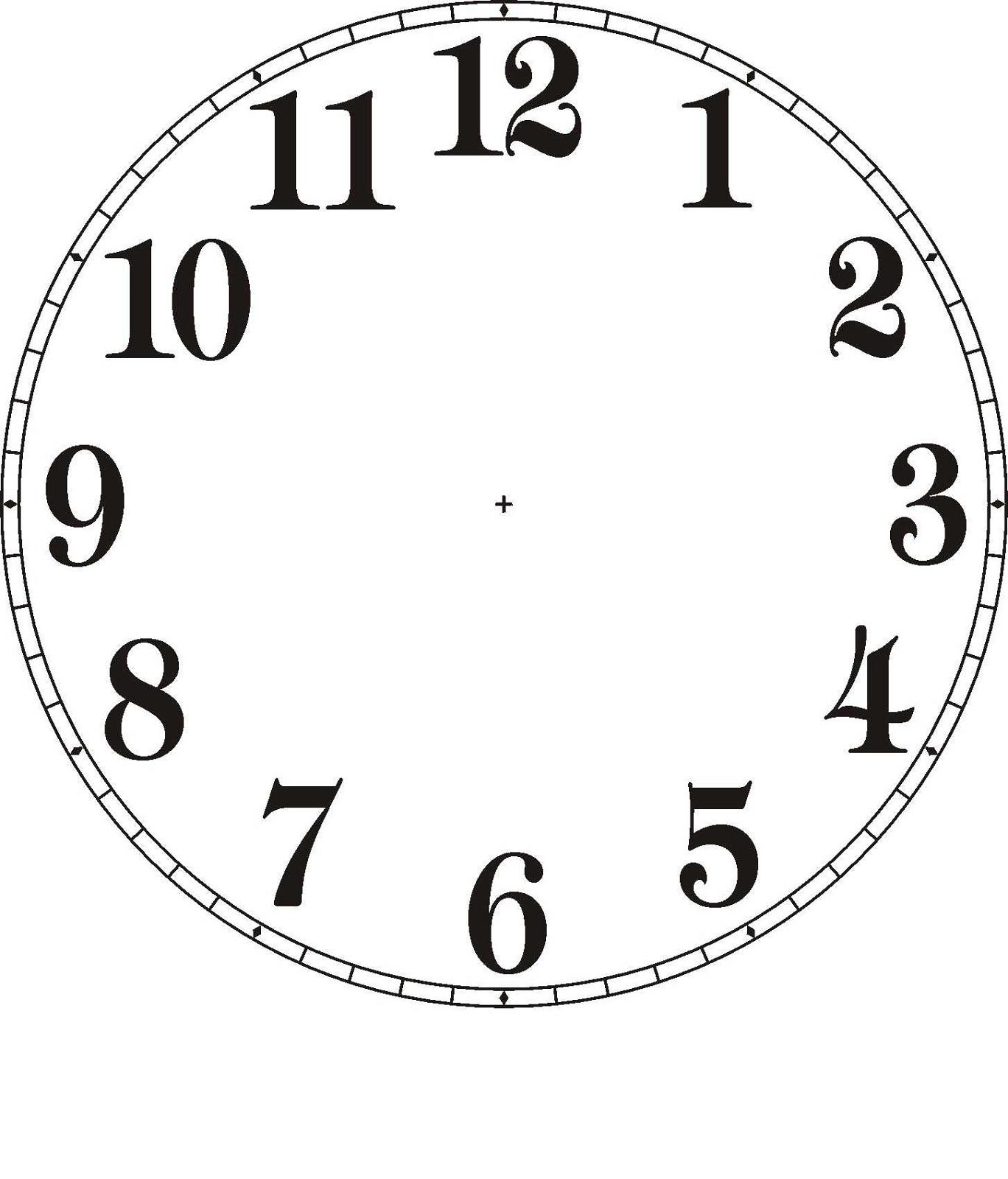 Pointer clipart clock Design face clock Templates templates