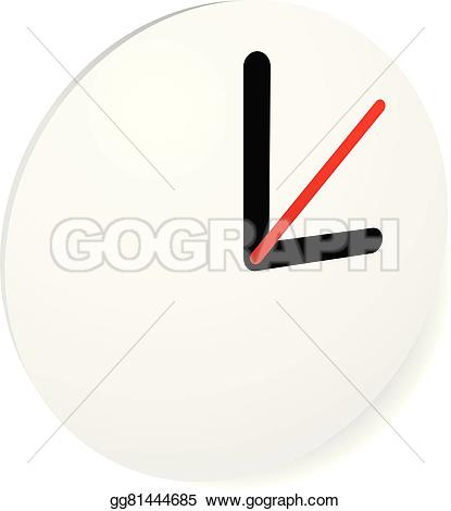 Pointer clipart clock  fastness EPS concepts icon